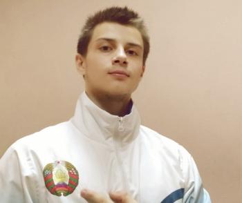 Наш спортсмен на чемпионате Европе